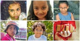 Shanaya, Rya, Mae-Lee, Ashfaaq et Paul-Henry ont croqué Santa Klaus.