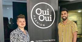 «Oui Oui Fashion, c'est tout ce qui est unique et tendance», assurent Rafal Leja et Shalman Emambukus.