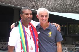 Jean Carl Palmyre pense que le Mauricien a besoin d'une passion tel le football.