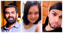 Azhar Mamodeally, Sarah-Jane Laverdure et Warren Etowar parlent de leur relation avec les réseaux sociaux