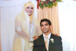 Muhammad et Samiira Nuckcheddy sont mariés depuis deux ans.