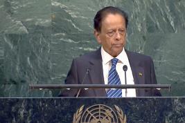 Sir Anerood Jugnauth a su convaincre lors de son discours.