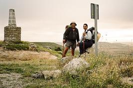 S'ils connaissent le parcours, ils se font un plaisir de marcher cette année pour deux ONG.