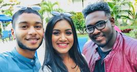 Ashley, Neeshi et Johnny pris dans une histoire d'amour et d'amitié…