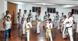 Les karatékas de la SMAF étaient présents en force pour la reprise des entraînements.