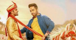 Ayushmann Khurrana et Jitendra Kumar sont un couple gay dans ce film.