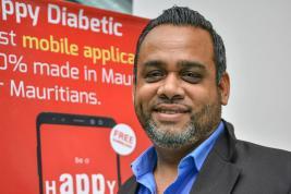 Cette application a été créée pour parer aux manquement auxquels doivent faire face les diabétiques, explique Nadeem Mosafeer.
