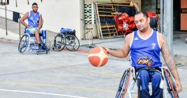Jean-François Favory milite pour le respect des droits des handicapés.