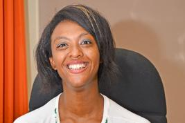 Christabelle, qui a choisi de devenir entrepreneure, fait la fierté de sa maman Marie-Anne.