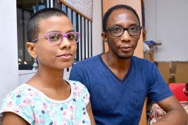 L'art comme arme de combat contre l'exclusion, c'est la philosophie de Stephanie et Jamel.