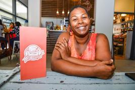 L'épouse de Stephan Buckland a développé sa passion pour la cuisine à l'adolescence