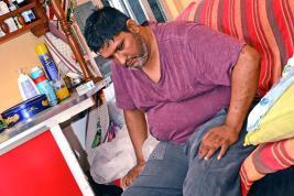 Fazley Auliar confie qu'il mène une lutte sans merci depuis le diagnostic de sa maladie.