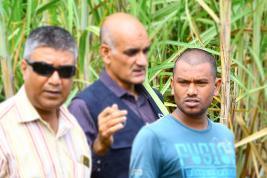 Vishal Sidhari a participé à une reconstitution des faits le vendredi 6 avril.