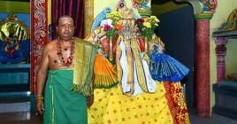 L'aya Kuswarugun accompagnera environ 150 dévots lors de la cérémonie
