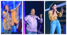 Elodie, Dimitry et Kami sont les trois voix qui se sont distinguées lors du 2e prime.