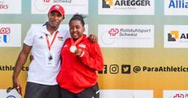 La jeune Rodriguaise de 16 ans est montée sur la plus haute marche du podium avec un lancer de 11m52.
