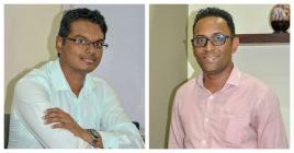 Rajiv Nagaisar et Jossy Dowlutrao lancent un appel aux jeunes Mauriciens pour qu'ils viennent les rejoindre.