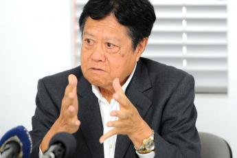 Philippe Hao Thyn Voon, président du Comité Olympique Mauricien.