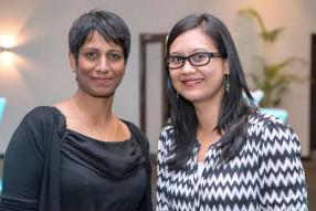 Malini Appadu, Executive Assistant, et Crystel Theodore, Senior Procurement Officer de Ceridian Mauritius.