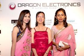 Lekha Ramoogur, Joelle Chan Yin et Luxmi Gooriah-Kumar, Accounts Clerks de Dragon Electronics.