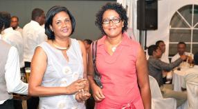 Josiane Selvon, Manager Management Accounts, en compagnie de Stéphanie Raghoonauth-Chaléon, directrice chez AFNOR.