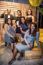 Anand Hurree, responsable de la maintenance, Doshini Ortoo, Payroll Officer, Samantha Batterie, Nima Matur, Accounts Clerk, Marie Jane Narain, Head of Communications and Public Relations, et Ruheeta Aujgobee, Accounts Clerk, tous du groupe Trimetys.