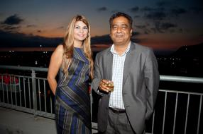 Neelam Sharma et Kiran Juwaheer, Managing Director de Vivo Energy Mauritius Limited.
