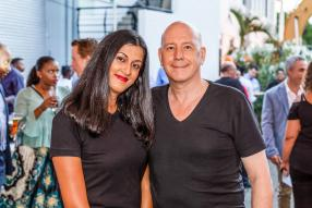 Jenny Cupidon, et Jean Luc Manneback, General Manager d'Impact Production Group.