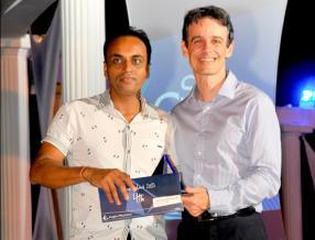 Cette cérémonie de remise de prix a vu l'arrivée de deux nouveaux agents dans le Top 5 de l'Anglo-Mauritius dont Manoj Ramkhelawon de Marsun Agency Ltd.