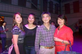 Debbie, Ines, Michael et Linda Li Sung Sang.