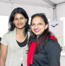 Belinda Teeroovengadum, Communications Manager, et Shalini Bunwaree, Marketing Manager, tous deux de Vivo Energy Mauritius.