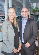 Bronwyn Corbett, CEO, et Greg Pearson, directeur, tous deux de Grit.