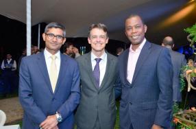 Louis Rivalland, CEO de la SWAN, et Malcolm Moller, CEO d'Appleby.
