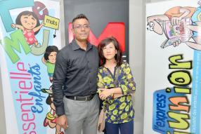Sandeep Khedun, Project Coordinator d'Active Line de Harel Mallac, et Shirley Chan, designer à la COI.
