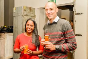 Krishini Panjanadum, directrice de Nickelnet, et Fabien Halbwachs, directeur de Bite Me.