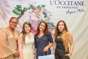 Kurslyne Sénèque, Elodie Guillaud, Anaïs Madani et Aurélie Verdeaux, des invitées.