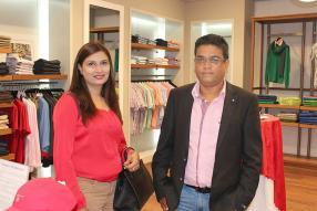 Sheila Munhurun et Ashok Munhurun, deux clients.