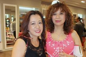 Nadine Wong, directrice de Wong Chap Lan Co. Ltd, et Danielle Li, directrice de Sheridan Supermarkets.