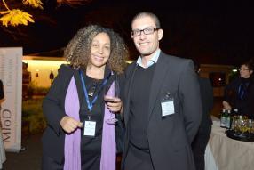 Heba Capdevila Jangeerkhan, Director, MIoD, et Olivier Decotter, Director, MIoD.