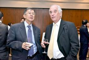 Philippe Ah Chuen, CEO d'Allied Motors, et Maurice de Marasse Enouf, Independent Director de Terra.