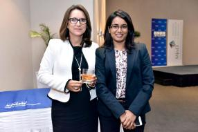 Catherine Mcllraith, Member of Audit Committee Forum, et Varsha Bishundat, Senior Manager chez KPMG.
