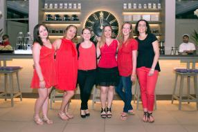 Pauline Rice, Anne-Sophie Le Moal, Julie Ferrand, Julie Jousset, Sophie Guyomard et Amandine Andrade, toutes commerciales chez KUONI France.