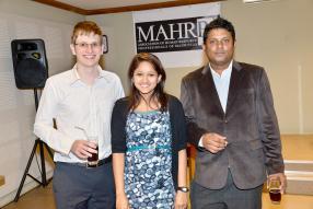 Robert Wade, Emy Unthiah et Randhir Roopchund.