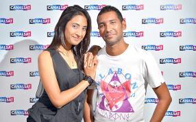 Keervyn et Shuita Venkatasami.