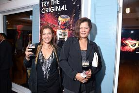 Janette Raffait et Christma Chevalier du Bambou Nightclub.