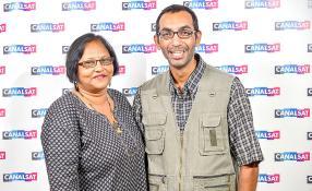 Anupa et Ashok Morubee.