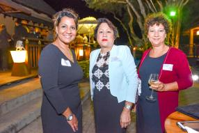 Sonia Donat, Head of Category Management, Scott Co. Ltd, Lynda Kok Shun, Managing Director de Magilyn Ltée, et Marlys Ithier, Travel Manager, Concorde Tourist Guide Agency.