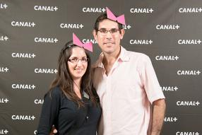 Adeline et Yannick Lagesse.