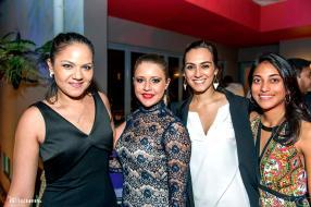Chloe Cerdor, Viktorya Duverge, Veronique Ross et Ornella Acker, des invités.