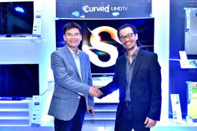 Jingak Chung, Managing Director de Samsung Indian Ocean, et Clovis Wong, Chief Executive Officer de TheBrandHouse.